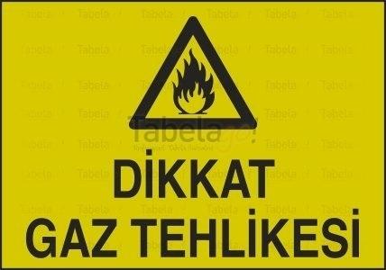 Dikkat Gaz Tehlikesi