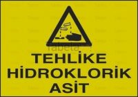Tehlike Hidroklorik Asit