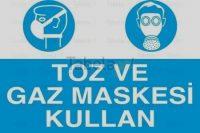 Toz Ve Gaz Maskesi Kullan