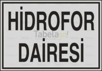 Hidrofor Dairesi