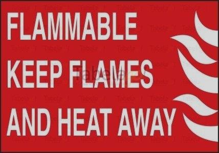 Flammble Keep Flames And Heat Away